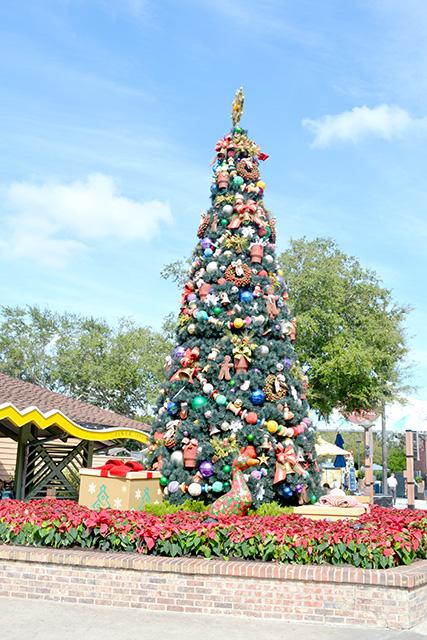 Wandering Through Disney's Christmas Tree Trail