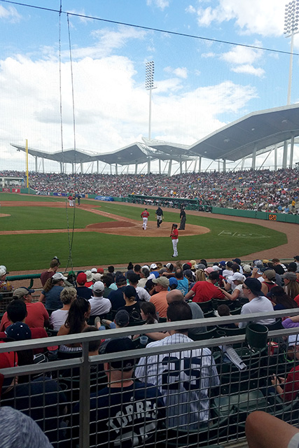 10 Reasons to go to a Red Sox Spring Training Game