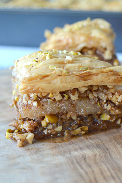 Making the Perfect Middle Eastern Baklava