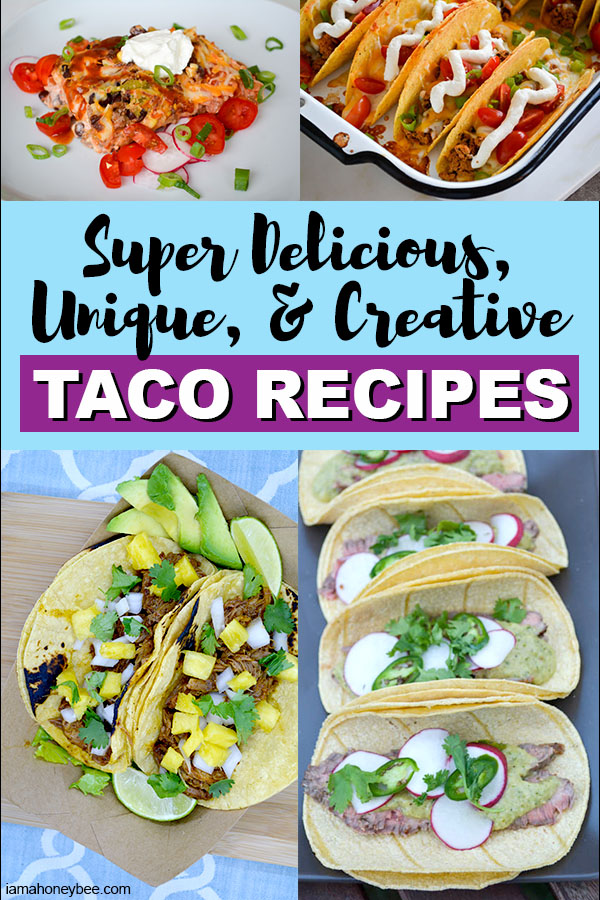 Collage of Creative Taco Recipes
