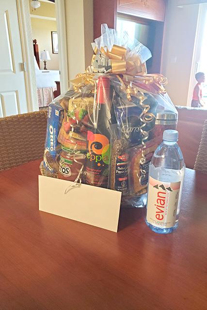 Giftbag from Westgate Vacation Villas