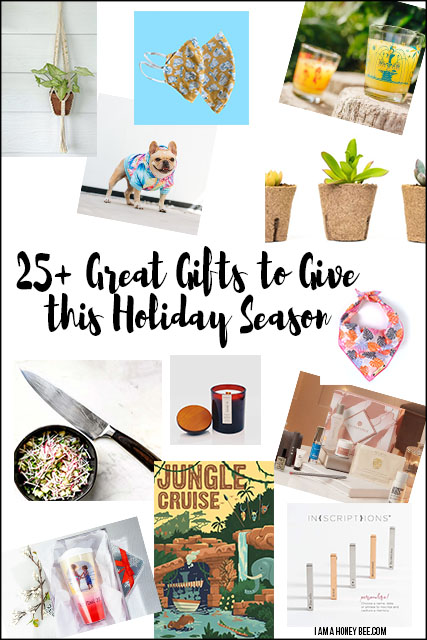 2020 Holiday Gift Guide Collage