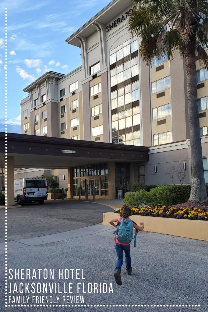 Sheraton Hotel Jacksonville FL Pinterest style collage