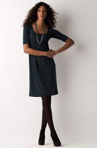 square nexk dress
