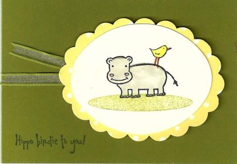hippobirdie card