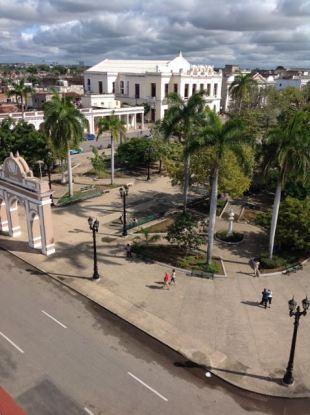 Parque Jose Maria from the Duarte mansion