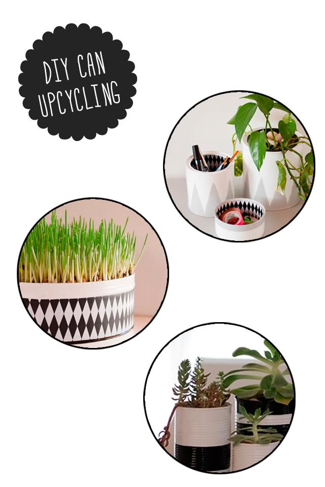 DIY ¡Pintar latas! Visto en IamaMess blog