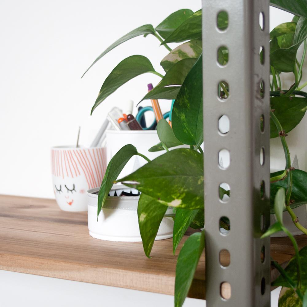 DIY: Estantería estilo industrial low cost, visto en IamaMess blog