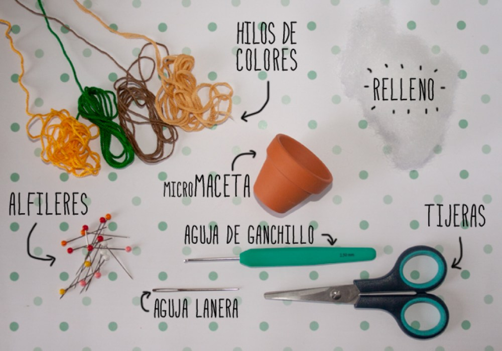 DIY arbol de navidad alfiletero, materiales