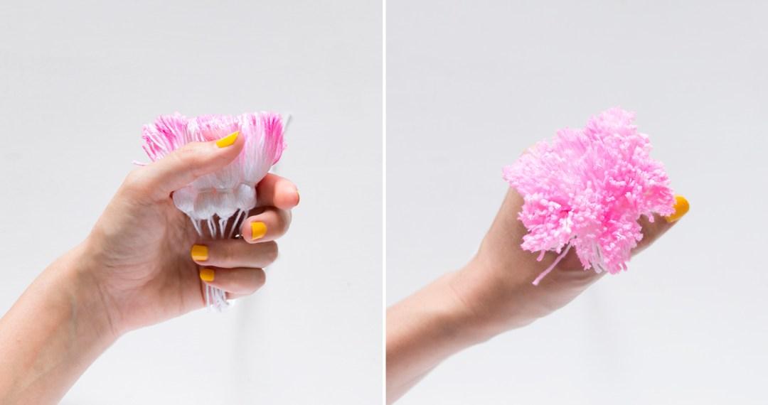 """Tassels de colores, visto en """"I ama Mess Blog"""""""