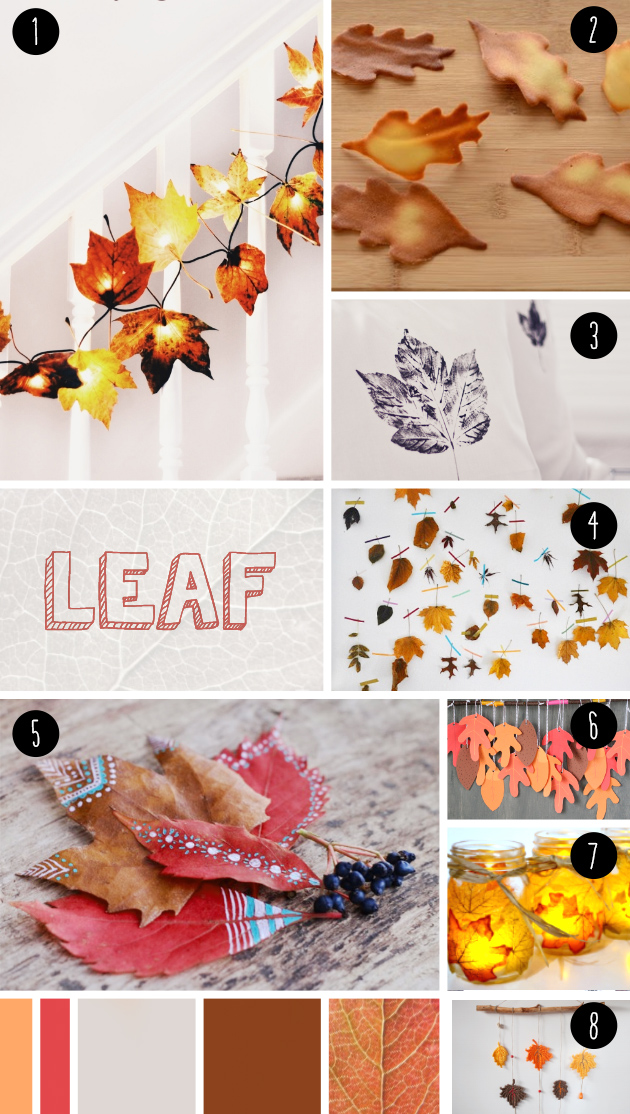 "8 leaf DIY seen at ""IamaMessBlog"""