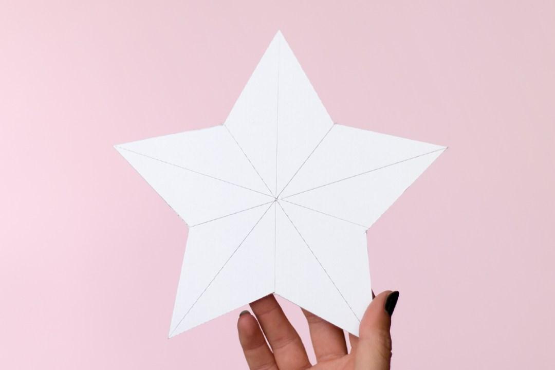 DIY estrellas faciles de carton