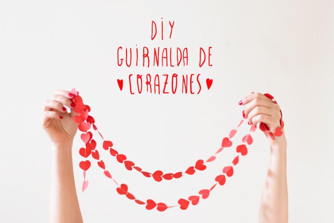 DIY: Guirnalda de corazones