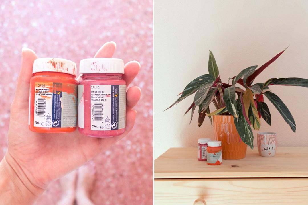 "Cómo usar chalk paint para la pared, visto en ""I am a Mess Blog"""