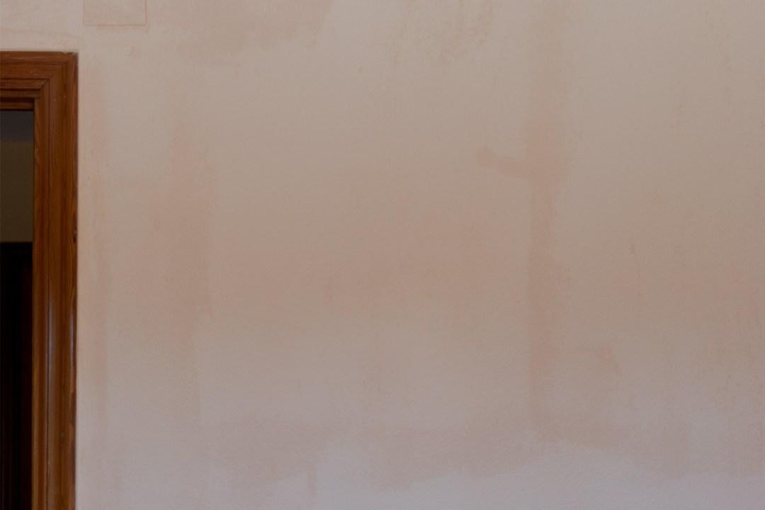 """Cómo seca el Chakl Paint, visto en """"I am a Mess Blog"""""""
