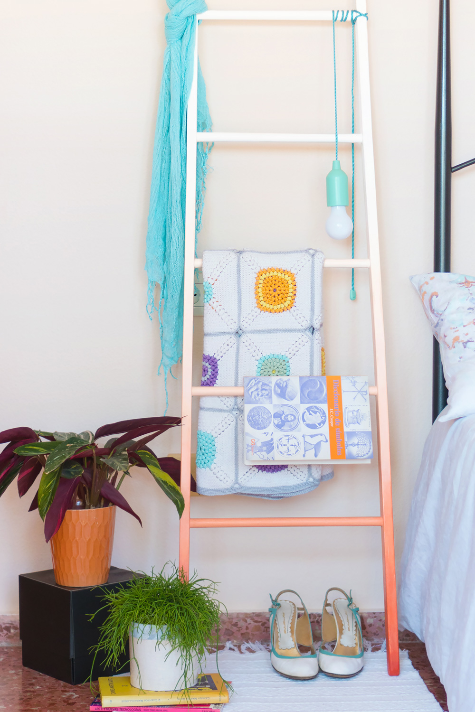 """Como hacer una escalera DIY paso a paso, visto en """"I am a Mess Blog"""""""
