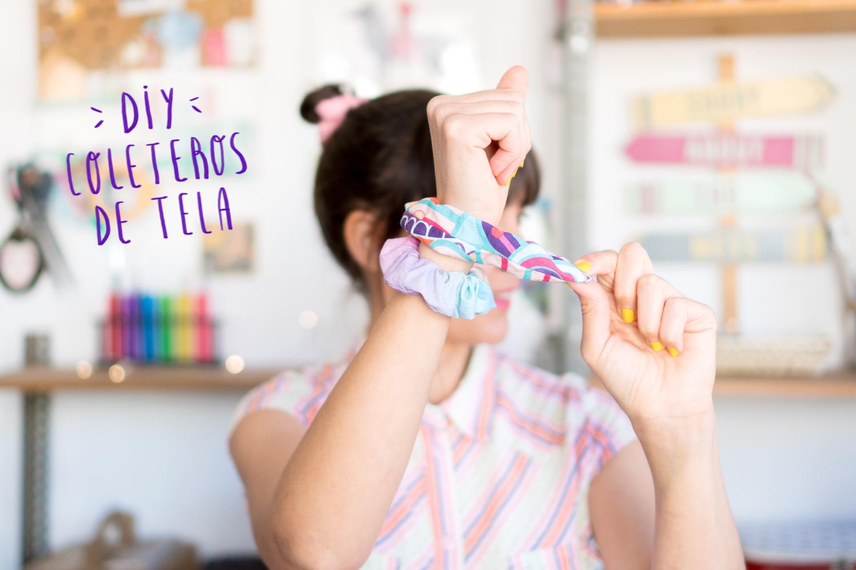 Tres formas de hacer coleteros de tela DIY paso a paso, visto en