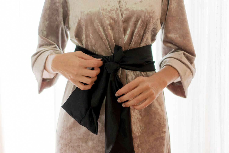 Bata Kimono DIY paso a paso con patrón. Visto en