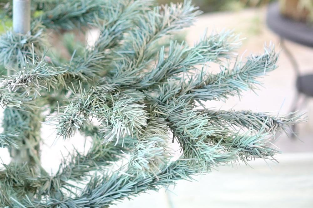 """Como pintar el árbol de navidad, visto en """"I am a mess blog"""""""