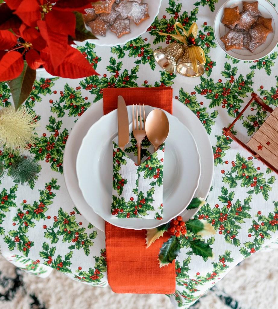 Mesas para las fiestas: Mesa de navidad