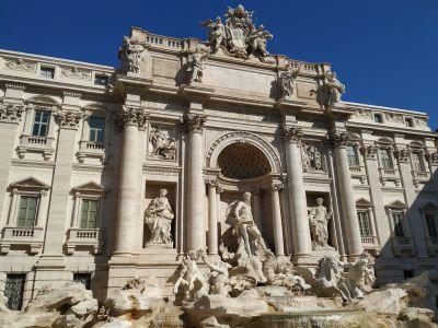 Museos, plazas y fuentes de Roma