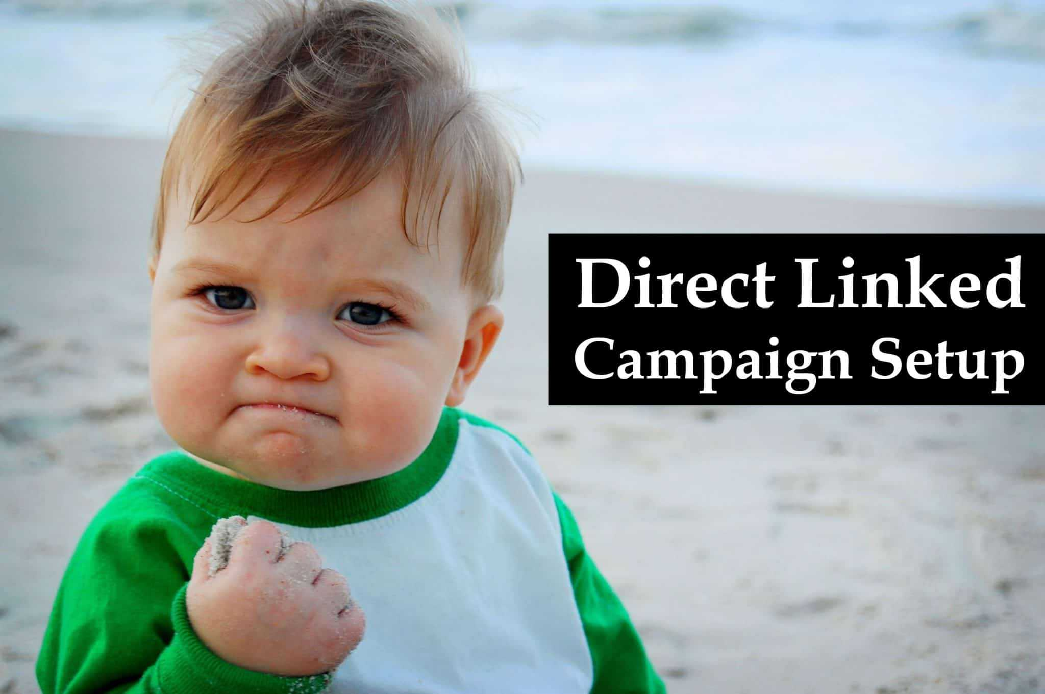, How to create a direct linked campaign on Thrive?