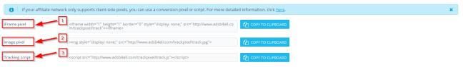 , How to set up postback in AdsBridge tracking platform