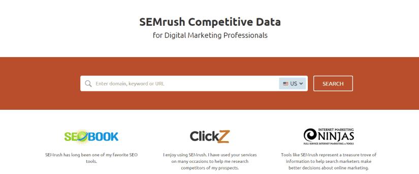 , SEMRush – Jumpstart your SEO
