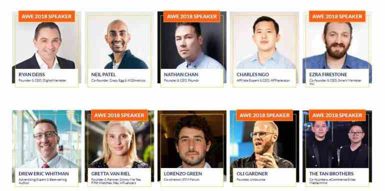 , Affiliate World – BARCELONA 2018!! The #1 Internet Marketing Conference with REAL affiliates