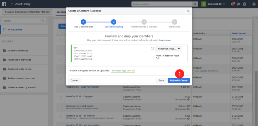 , How to Create Custom Audiences for Facebook Ads When Someone Completes a Specific Step/Action in Your ManyChat Bot
