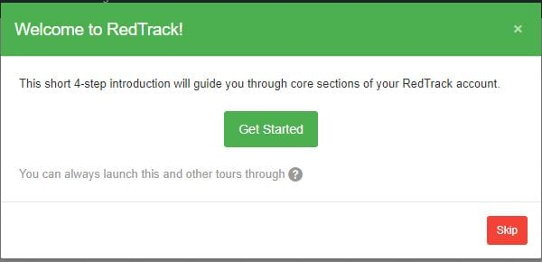 , Getting Started With RedTrack