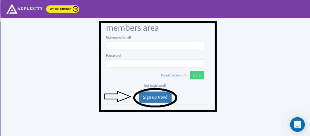 How to Create An Account on AdPlexity