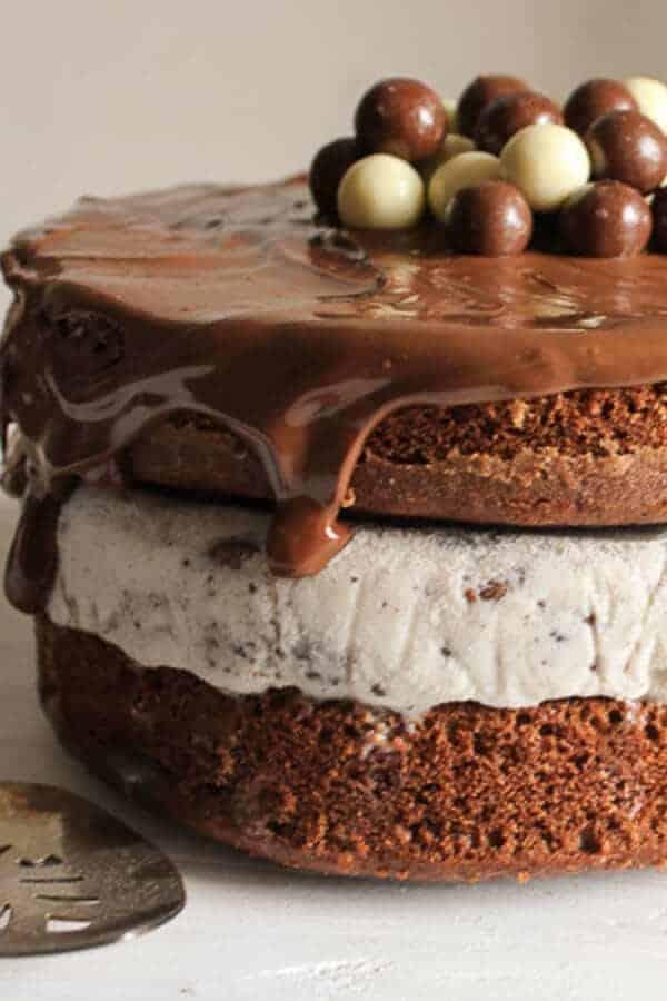 Nutella Kit Kat Oreo Ice Cream Cake I Am Baker