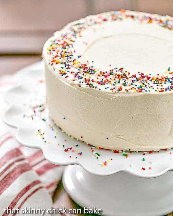 Confetti Cake I Am Baker