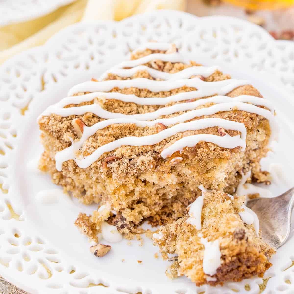 Old Fashioned Apple Cake I Am Baker