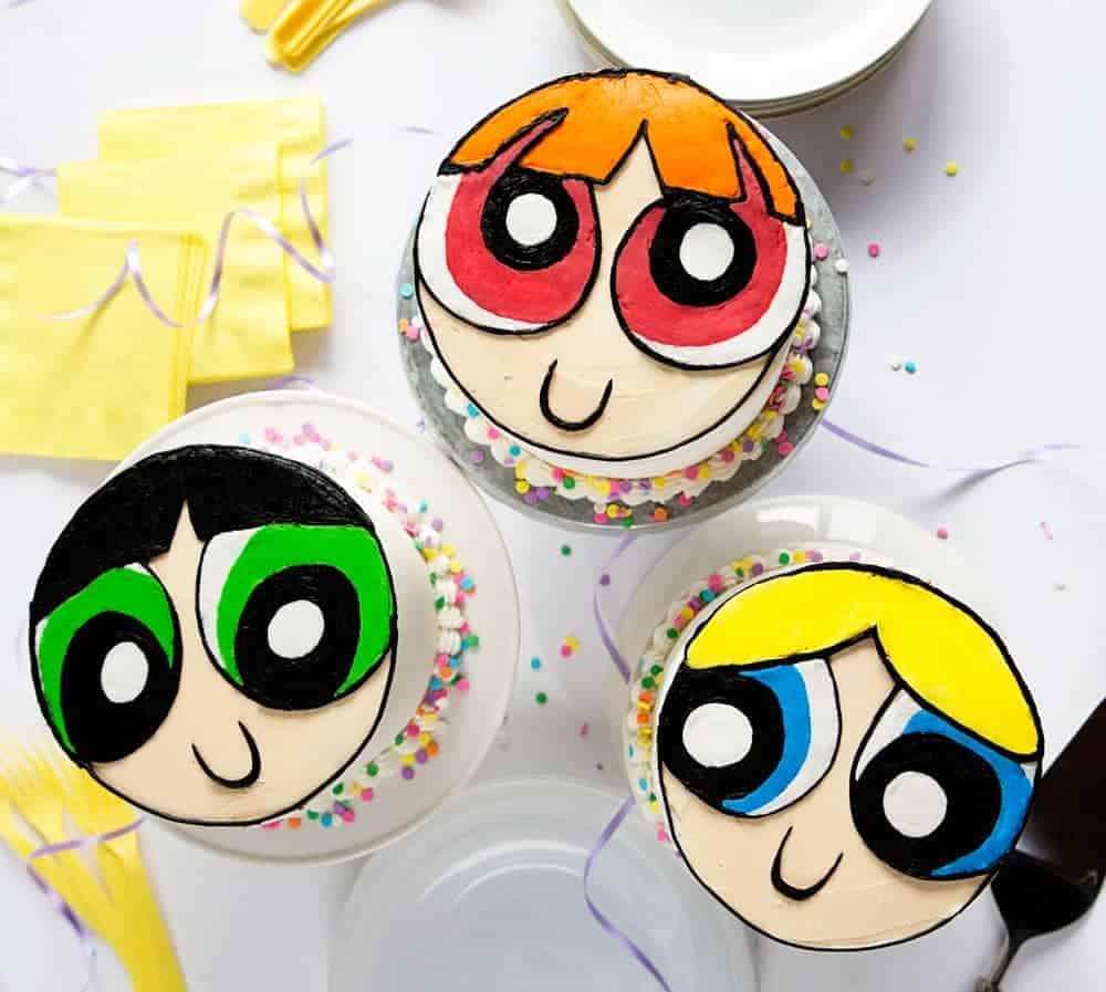 Powerpuff Girls Cake I Am Baker