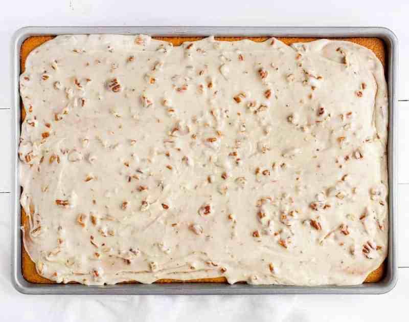 Almond Pecan Frosting