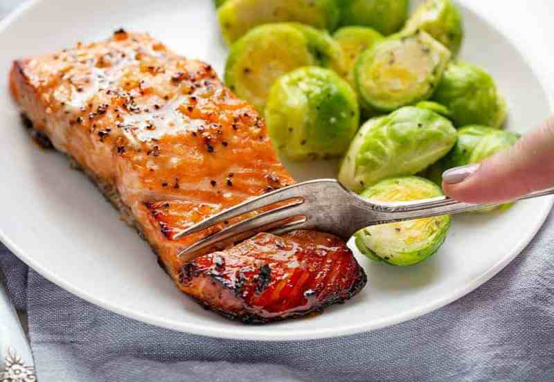 Tender and juicy honey garlic salmon