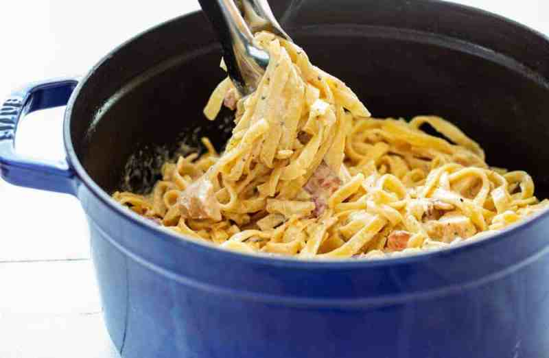How to Cook Noodles for Fettuccine Alfredo