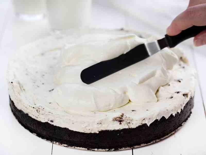 No Bake Oreo Cheesecake with Homemade Whipped Topping