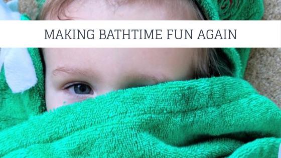 Making bathtimes fun