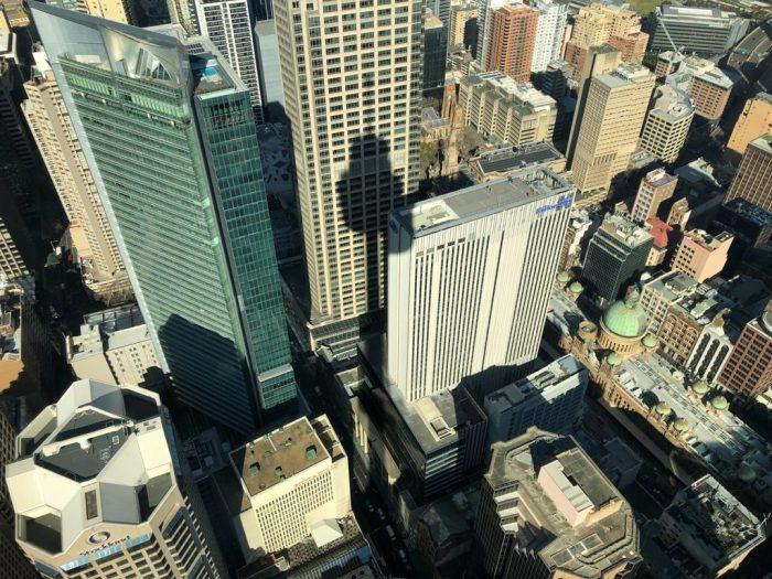 Blick vom Sydney Tower Eye
