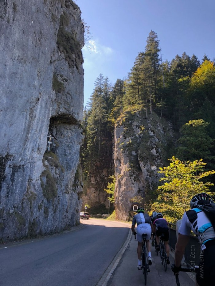 Rennrad Saisonfinale Bodensee: Rote Wand