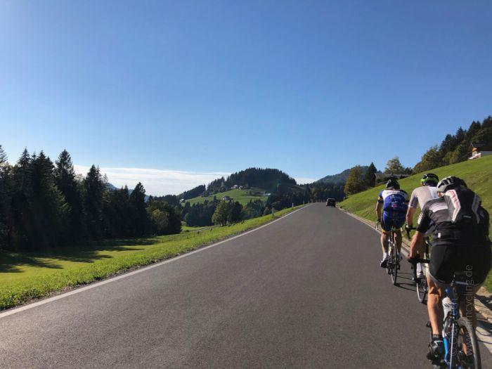 Rennrad Saisonfinale Bodensee: Auf dem Rückweg