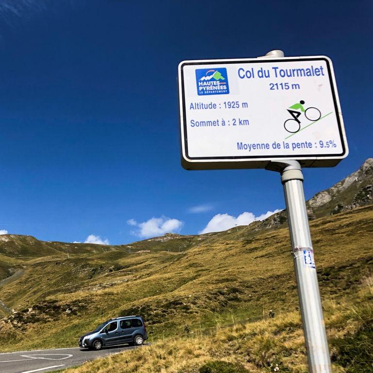 Auf dem Weg zum Col du Tourmalet