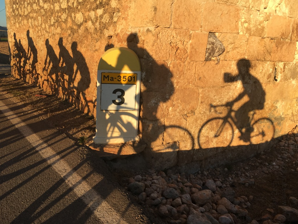 Roadbike Trainingscamp Mallorca 2017 - Rückfahrt zum Hotel