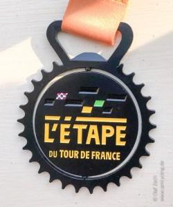 Medaille der l'Etape du Tour 2019 - iamcycling