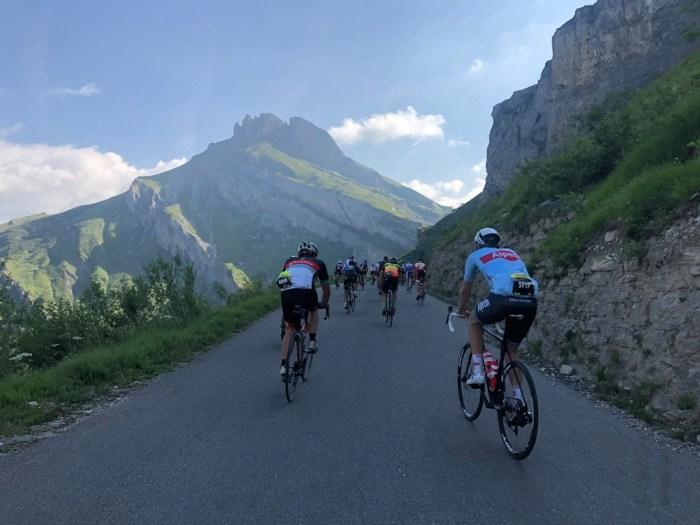 Anstieg bei der l'Etape du Tour 2019 - iamcycling