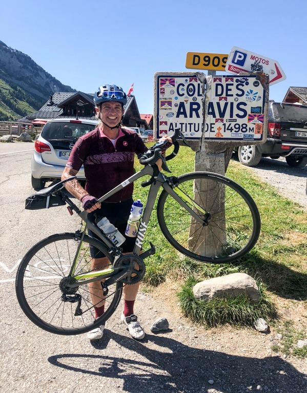 iamcycling-Savoyer-Alpen-Col des Aravis