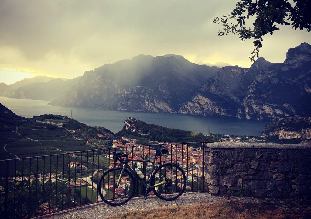 iamcycling-Rennrad fahren am Gardasee